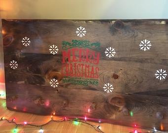 Christmas stocking hanger
