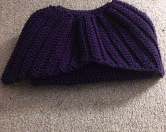 Small Child's Purple Mermaid Tail