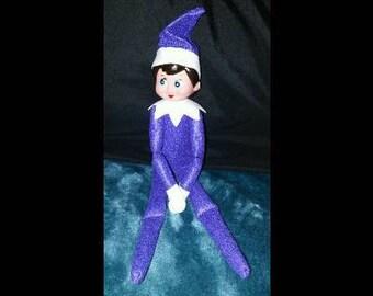 Elf on the Shelf Purple Girl