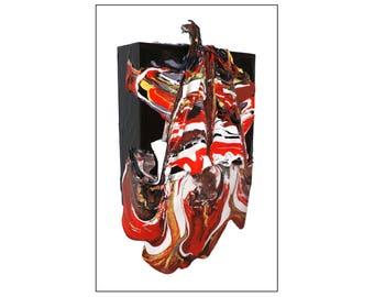 """Fine Art Print - """"Sorcerer's Mask"""""""