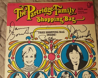 Autographed  David Cassidy/Partridge Family album