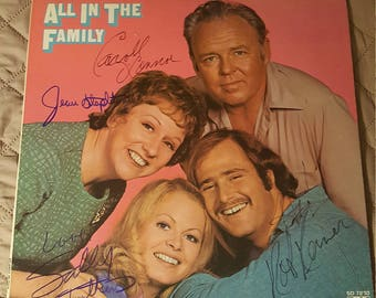 Autographed  All In The Family Album