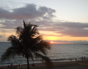 Mexico sunset