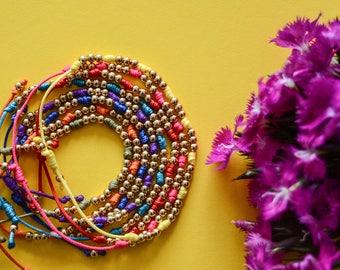 Bracelets with stones