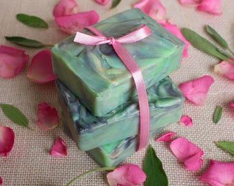 100% Natural Handmade Soap - Aloe Vera