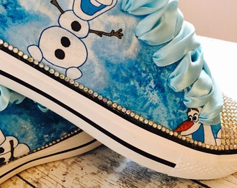 Frozen Themed Bling Sneakers