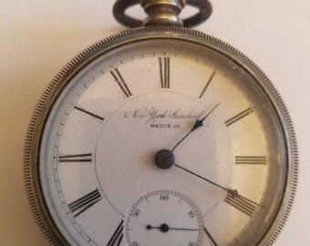 New York Standard Pocket Watch