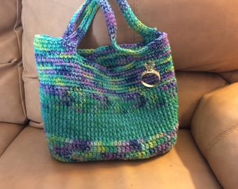 New handmade crocheted bag