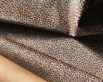 Leopard Print Upholstery Velvet