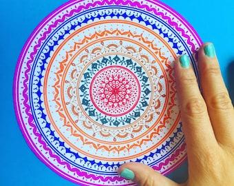 Mandala hand-drawn