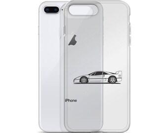 Ferrari F40 iPhone Case