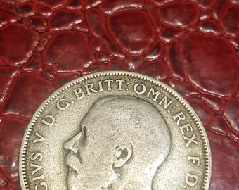 1920 Great Britain Uncertified Silver George V Florin