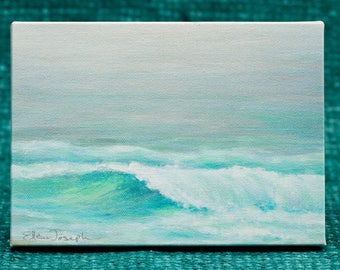 "The Wave by Ellen Joseph - 5"" x 7"" Print on Canvas"
