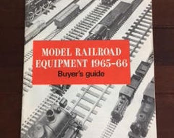 Model Railroad Equipment 1965-66 Buyer's Guides, Kalmbach Publishing