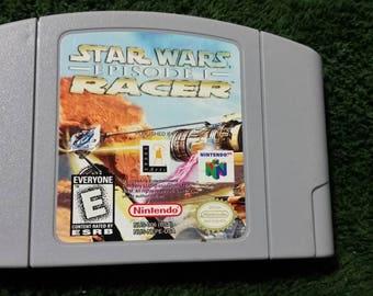 Star wars Episode 1 RACER. Game for Nintendo 64 N64