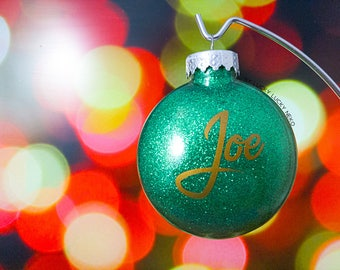 Personalized Yule Ornament