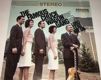 Chuck Wagon Gang Lord, Lead Me On Classic Gospel Record Album LP