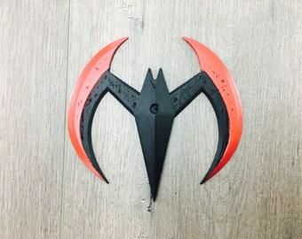 3-D Printed Batman Beyond Batarang