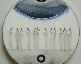Icon of Pentecost  Orthodox Modern