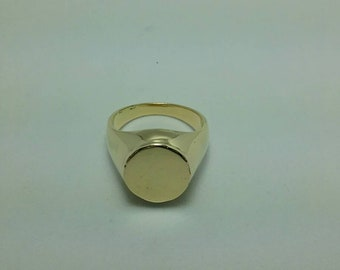 Solid 18k gold ring