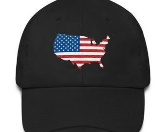 USA Cotton Cap