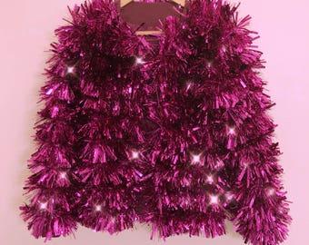 Pink Power Tinsel Jacket