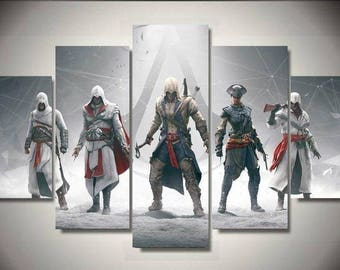 Assassin's Creed 5pc Wall Canvas