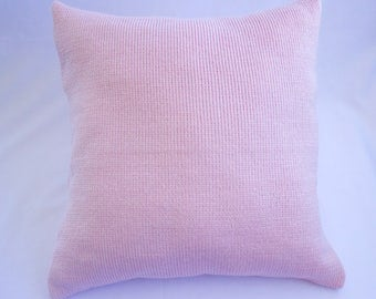 Knitted Envelope Pillow Cover