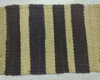 """Handmade Jute Rug, Hemp Rug, Natural Rug,  Area Rug, Scandi Rug, Floor Rugs, 1'4""""X2'2"""" Runner, Eco Friendly Rug, Grey rug"""