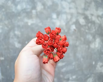 Dollhouse Red Roses Premium Quality