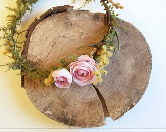 Customizable Adult or Child Floral Crown