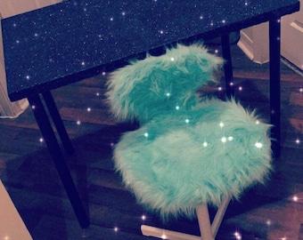Glitter Vanity Desk