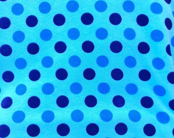 3 color blue dot