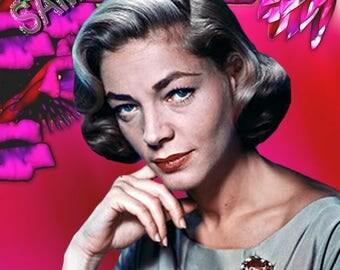 Lauren Bacall(1) Actress,Movie Star,Film Star,Old Hollywood, Classic Hollywood,1940's, Hollywood,Classic,Old,Vintage Photo,Vintage