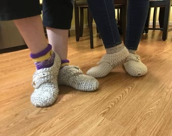 Crochet Shoes Made to Size