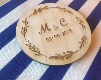 Wedding Personalized Coasters