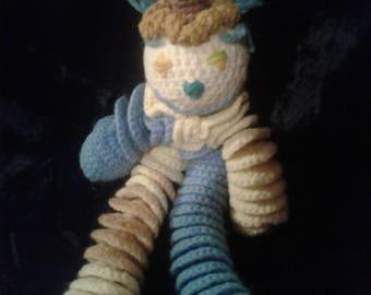 Vintage Crocheted Clown