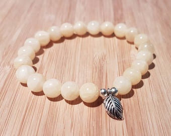Yellow Jade Bracelet- Wealth, Good fortune, Friendship