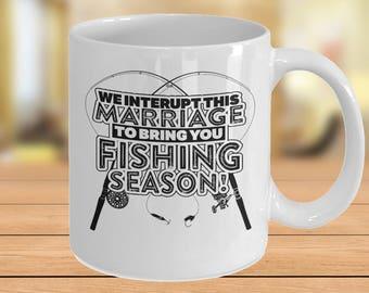 Fishing Mug, Mug For Fisherman, Mug For Angler, Mug For Fisherwoman, Fishing Gift, Fishing Dad, For Men, For Boyfriend, Fishing Gag Gifts