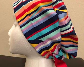 Rainbow Scrub Hat