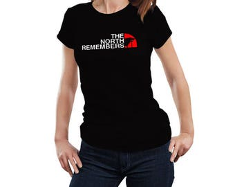 The North Remembers Game of Thrones Inspired Women's T Shirt