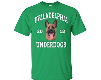Philadelphia Underdogs Shirt Green Eagles Fan Football T shirt, Philadelphia Footbal Shirts