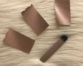 Rose Gold Glitter Juul skin Juul sticker Juul decal Juul wrap