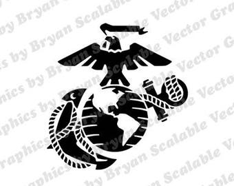 Marines SVG EPS