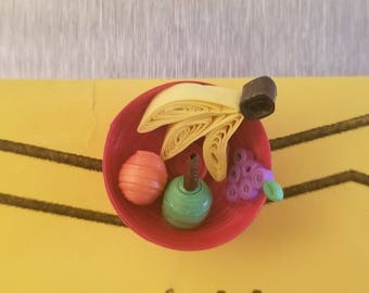 Fruit bowl magnet