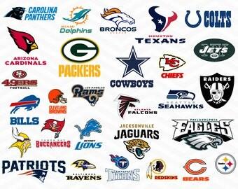 NFL Football svg, Nfl svg, Football svg, Clipart, cut files, print files, T-shirt svg,football logo, circut, silhouette cameo, nfl svg files