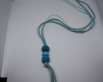 Turquoise/Blue Pendant