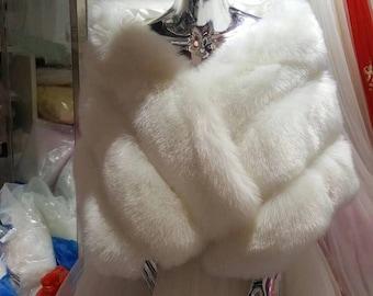 Bridal Fuax fur