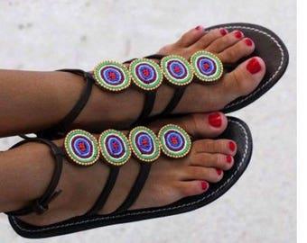 Maasai Enkiito Sandals