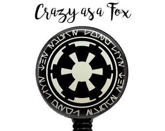 Star Wars Galactic Empire Retractable Badge Holder, Badge Reel, Lanyard, Stethoscope ID Tag, Teacher, Nurse md rn cna Gift